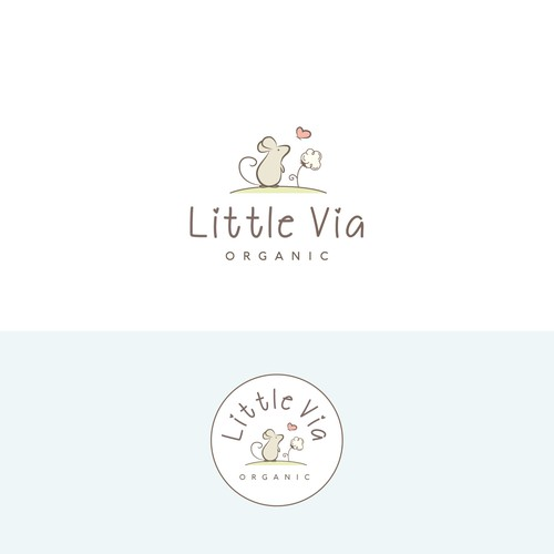 little via