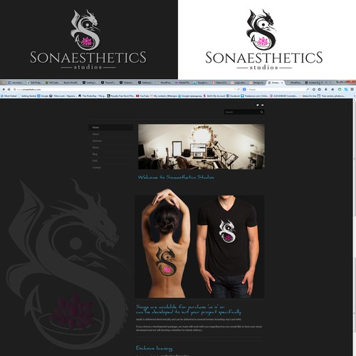 Create a tribal, meaningful logo for Sonaesthetics Studios! (Audio Production Studio)