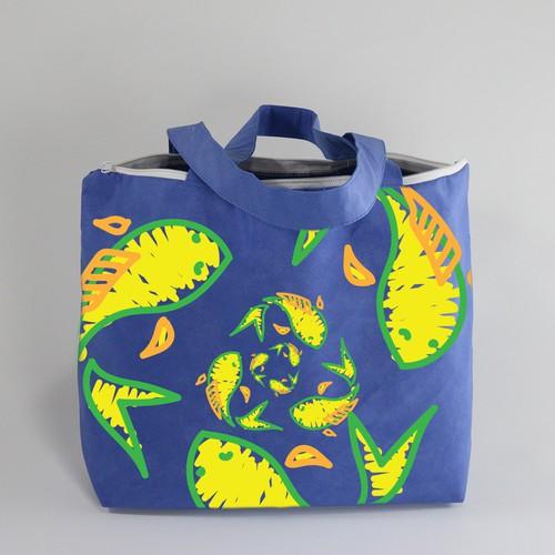 Tote Bag Design for Circular Blu