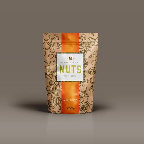 Packagin Handful Nuts