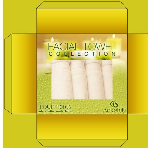 Box Design Ackehill 'Facial Towel Collection'