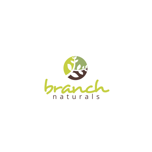 awesome logo for natural products