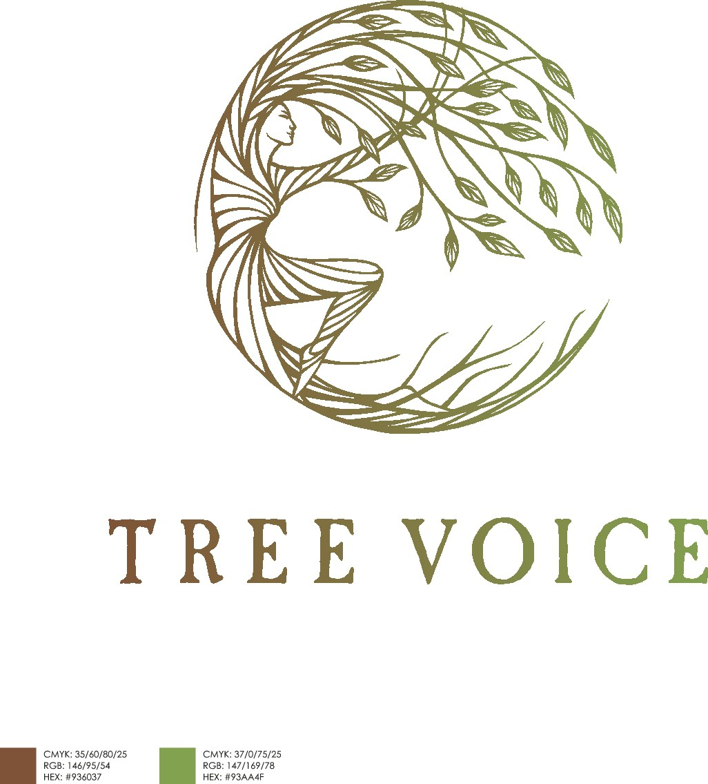 Grow a new logo to cover the 'Tree Voice' works