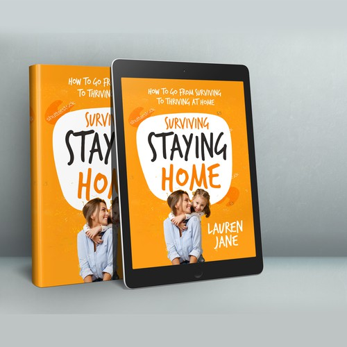 """Book Cover """"Surviving Staying Home"""""""