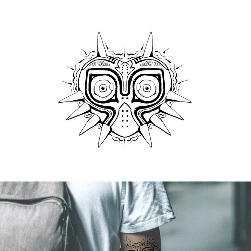 Gamer Tattoo Design