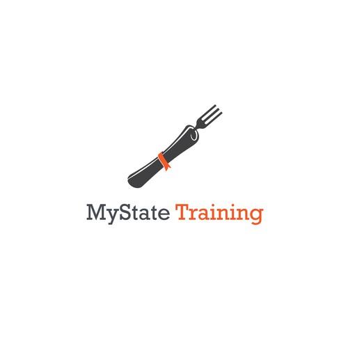 """Logo for """"MyState Training"""""""