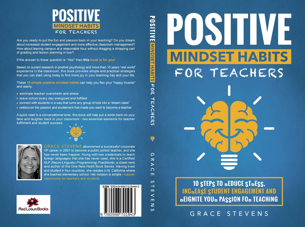 Fun book on putting positivity back in teaching needs a cover