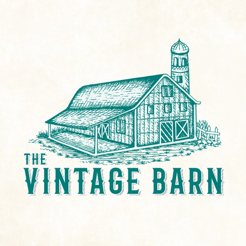 Need Vintage Logo for Shop that is called The Vintage Barn