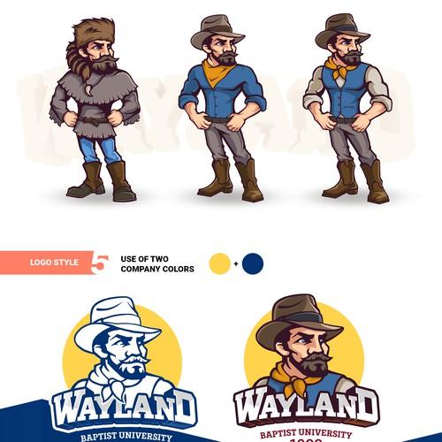 Mascot for University