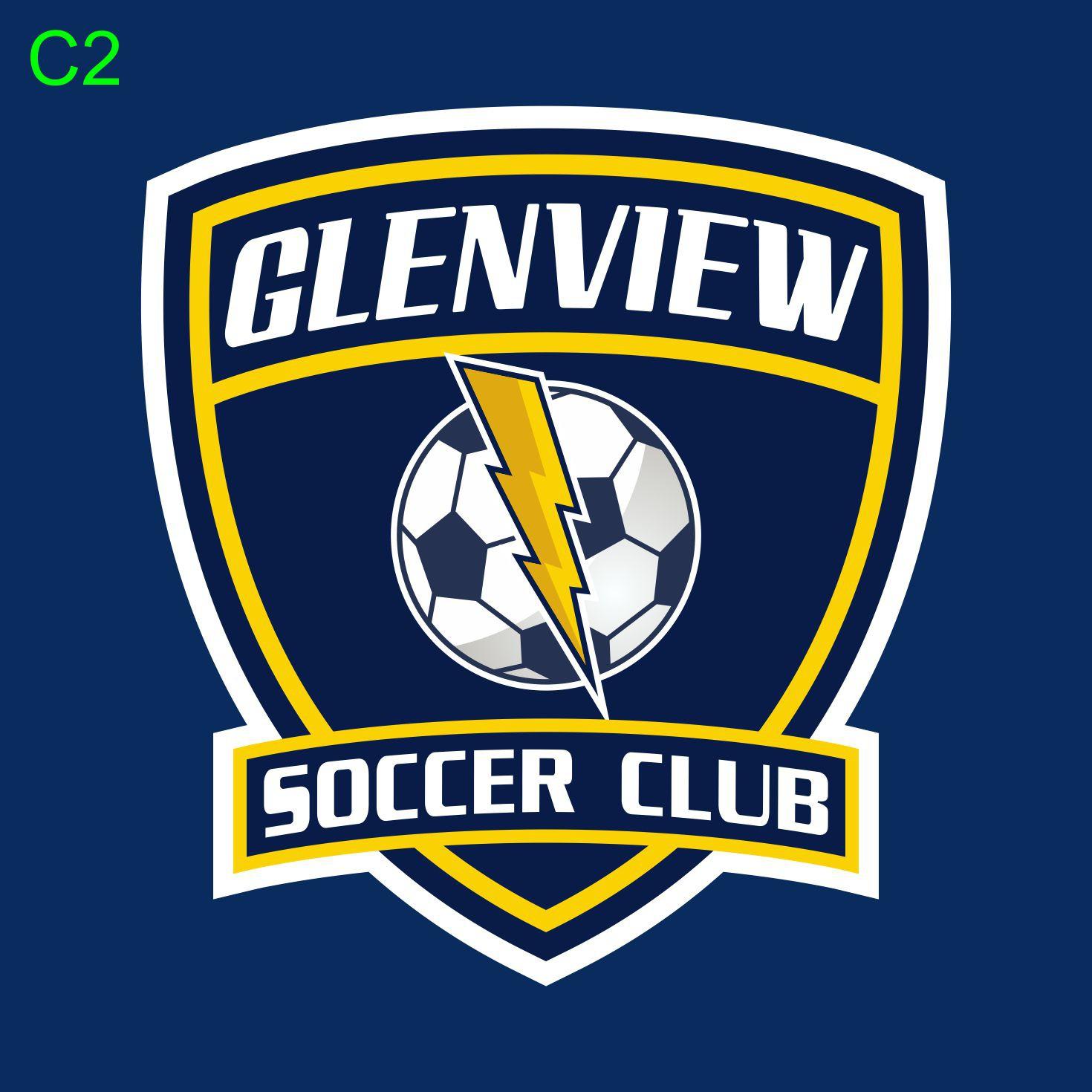 logo for Glenview Soccer Club