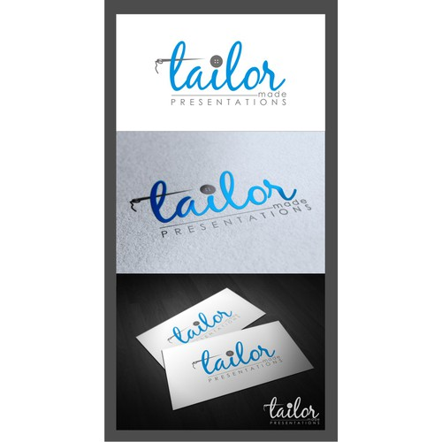 Create the next logo for tailor made presentations