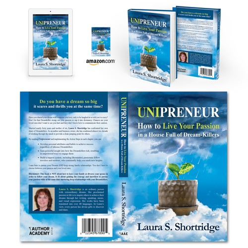 "Book cover for ""Unipreneur"" by Laura S. Shortridge"
