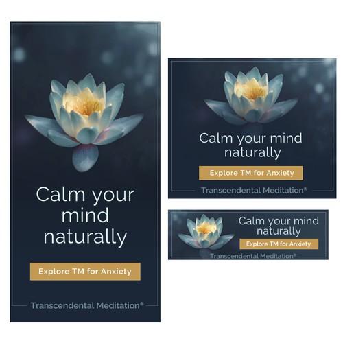 Meditation Banner Ad