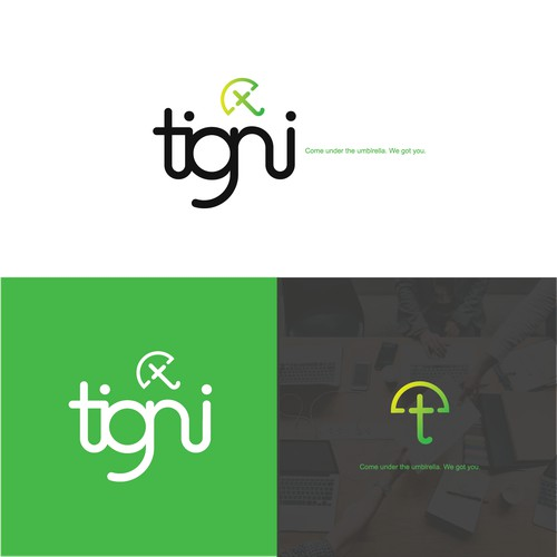 A modern, friendly logo for tech company.