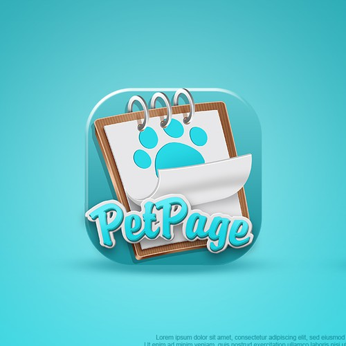Mobile App Icon for Pet Owners
