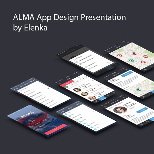 App design for Alma