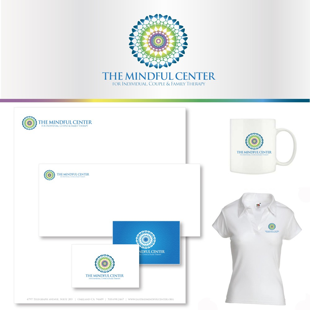 Create the next logo for The Mindful Center for Individual, Couple and Family Therapy