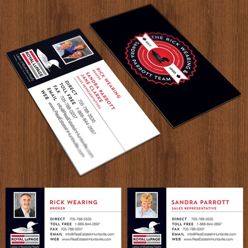 Real Estate Logo & Business Card Design