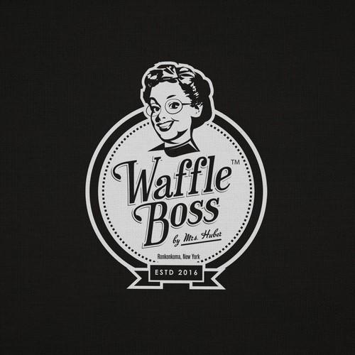 Waffle Boss - delicious new logo