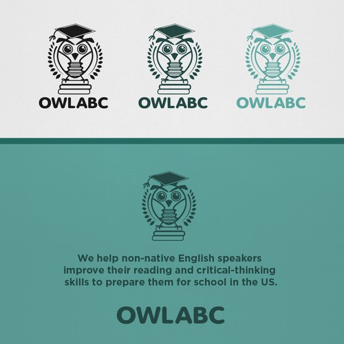 Design cute, modern, owl-themed logo for education company