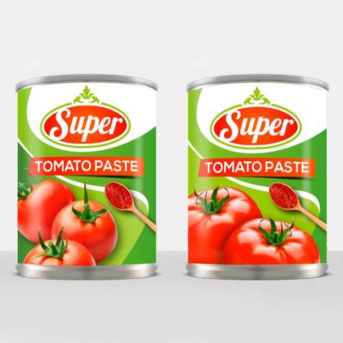 Fresh Label Tomato Paste