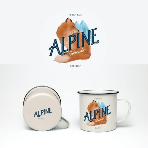 Logo Alpine Colorado - proposal