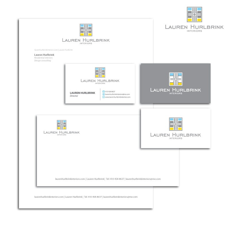 New logo and business card wanted for Lauren Hurlbrink Interiors
