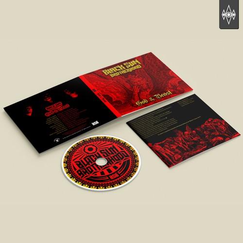 Album design cover for BLACK SUN BROTHERHOOD