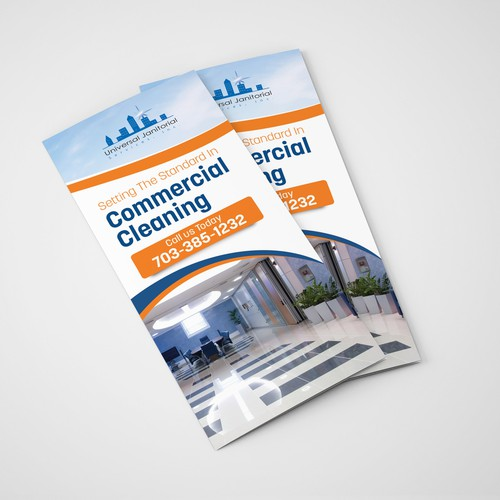 Brochure for commercial cleaning business
