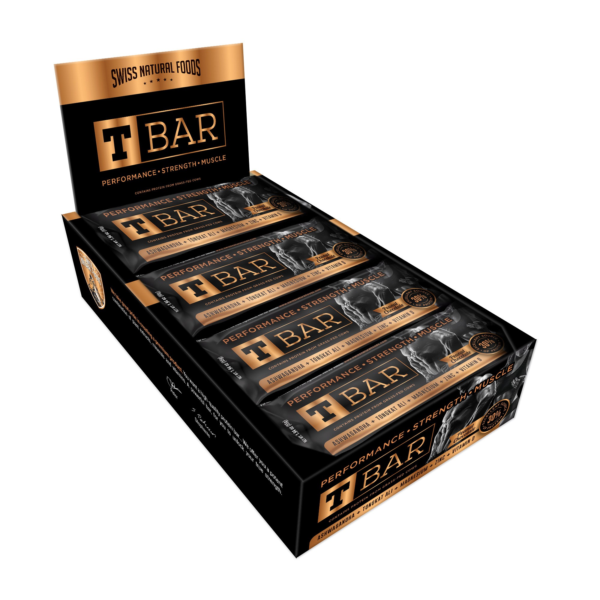 """SNF - Wrapper and Box for """"T Bar"""" - New flavor"""