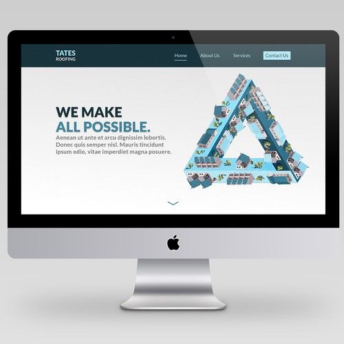 Roof Web Design Contest