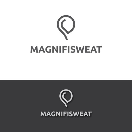 Magnificent logo for Magnifisweat