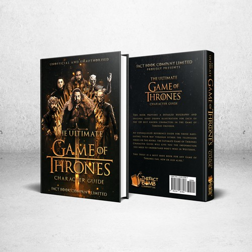 Book - The Ultimate Game of Thrones Character Guide