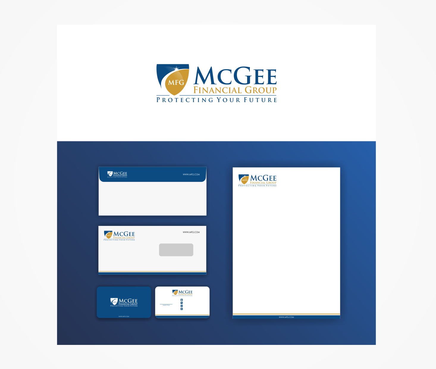 Just a squirrel trying to find a nut...Create a professional logo for McGee Financial