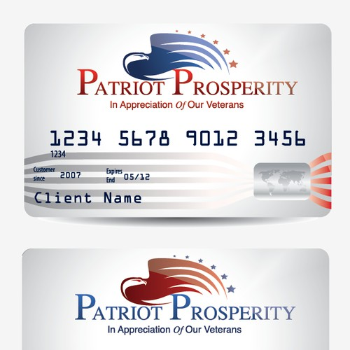 Create the next logo for Patriot Prosperity