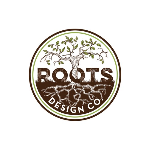 Logo for roots design Company