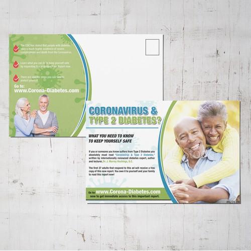 Bright Postcard Design