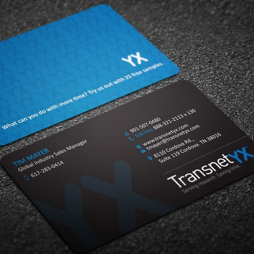 Only business card design