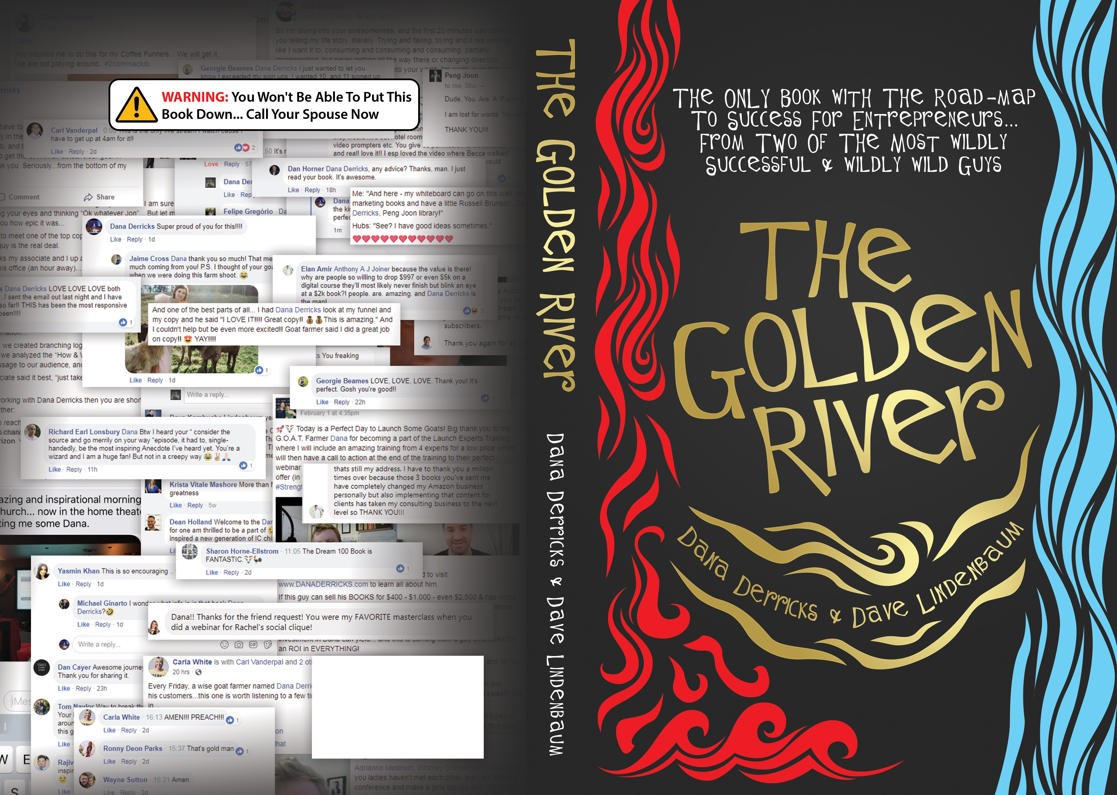 """Design For """"Golden River"""" Book --> Only Participate If You're Fun!"""