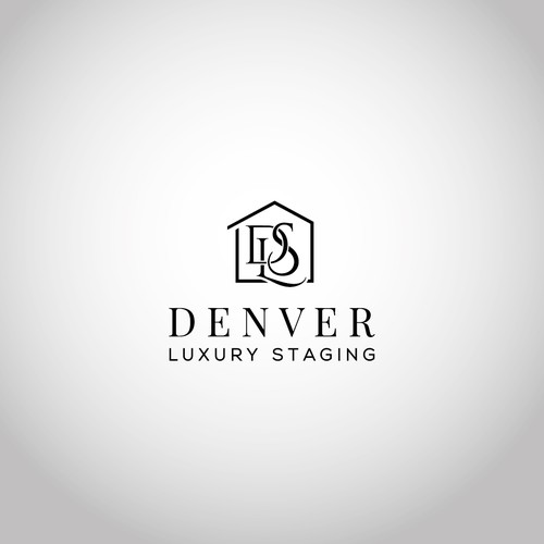 logo for home staging/design co.