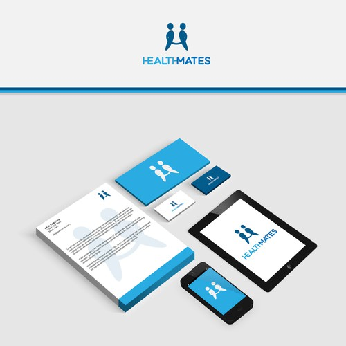 Simple logo for a consumer facing digital healthcare platform