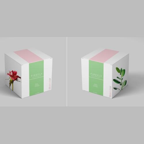 Moisturizer package design concept
