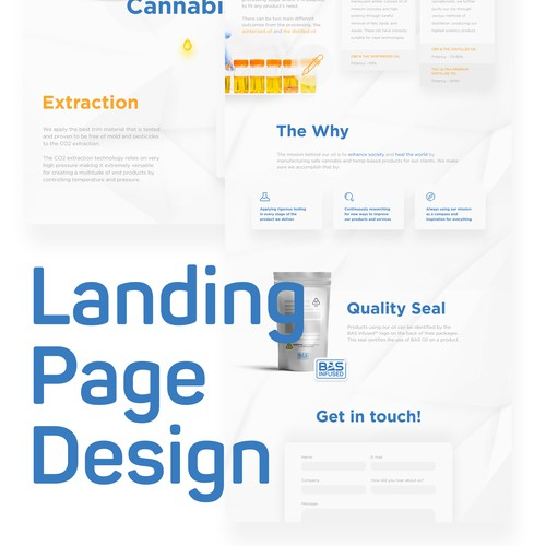Landing Page Design - A/B Tests / Call To Actions / Lead Collection / Custom Responsive Development
