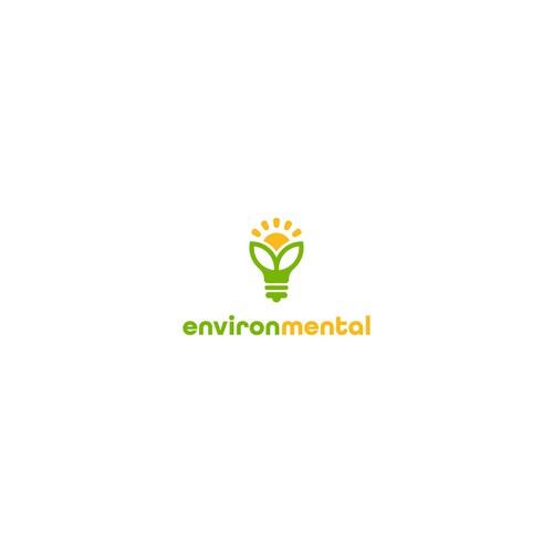 Bold logo for eco company