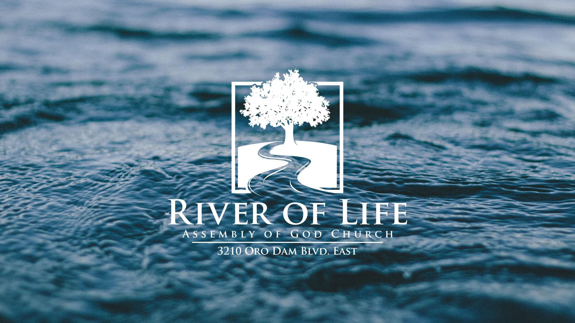 Design a brandable logo for River of Life Church.