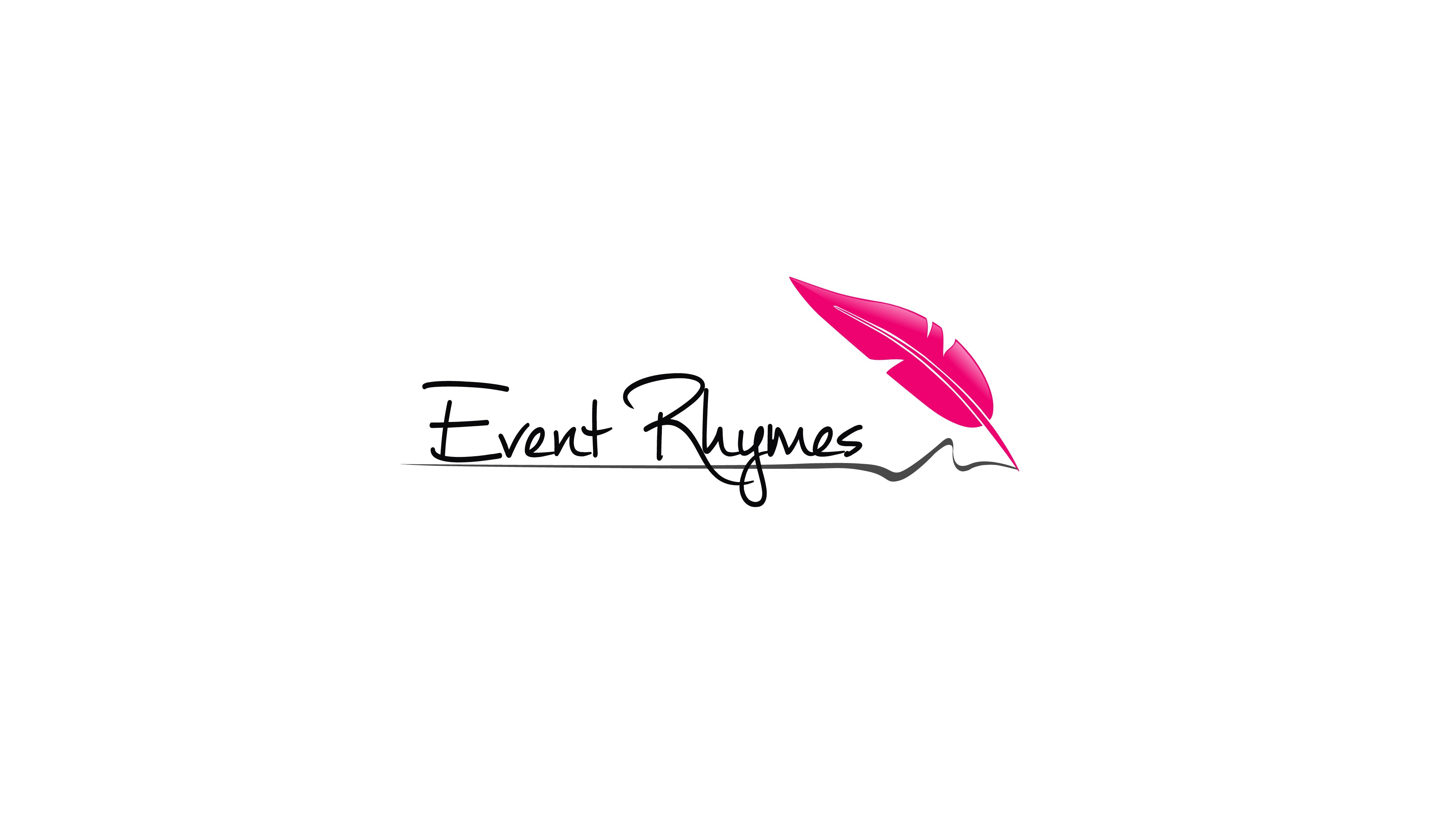 Develop a clean and modern logo for a poem-based event speech writing service!