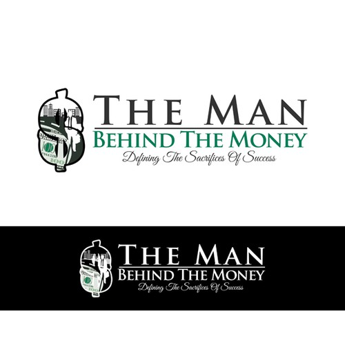design logo for the man Behind The money