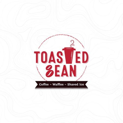 Toasted Bean Logo Design