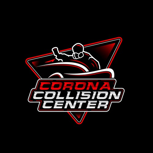 Corona collision center logo