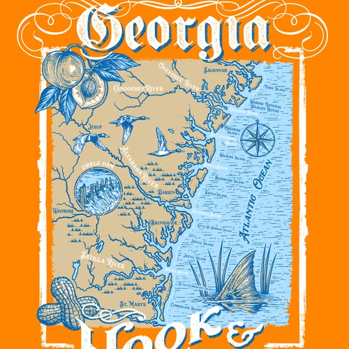 Hook & Trill Georgia maps